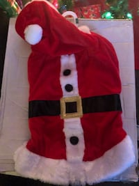 Large Dog Santa Claus costume  Virginia Beach, 23462