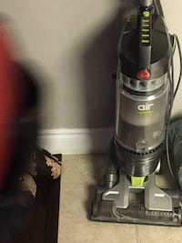 black and gray Hoover upright vacuum cleaner Brampton, L6W 4S2