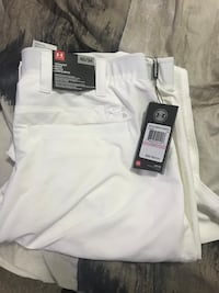 Under Armour White Golf Pants