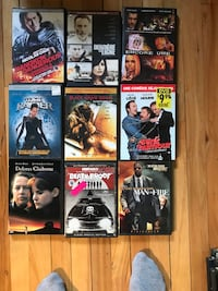 assorted DVD movie cases collage Montréal, H4G 2Y6