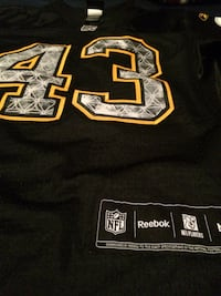 Medium youth reebok nfl polamalu jersey