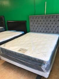 Pillow Top Queen Size Mattress And Boxspring Included  Pawtucket, 02860