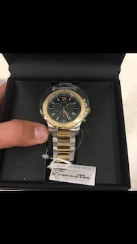 round gold and black movado chronograph watch Montgomery Village, 20886
