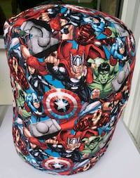 Handmade themed superhero footstool  pillow District Heights, 20747