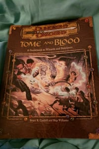 Tome of blood guidebook to wizards and sorcerer's Tewksbury, 01876