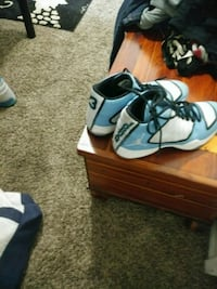pair of blue-and-black Nike basketball shoes San Diego, 92110