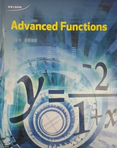 Brand New Advanced Functions Textbook