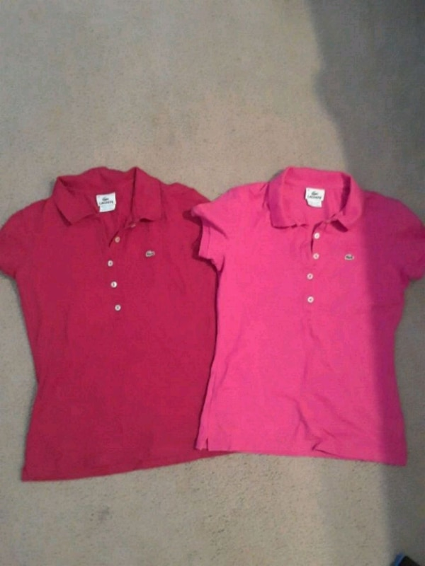 444ff2961 Used Lacoste Ladies Tops Lot(polo style) for sale in Fort Worth - letgo