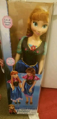 My Size Anna Doll Bowie