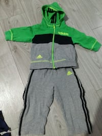 Adidas zip-up hoodie set 18 months Toronto, M5J 2X5