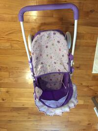 baby's purple and white stroller Sayreville, 08859