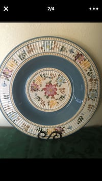 "19"" Hand Painted Decorative Bowl Vincent, 91722"