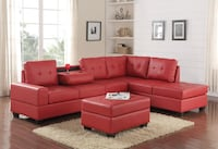 ## New Sectional with ottoman ( living room set ) Houston, 77074