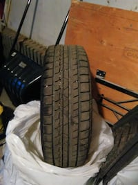 Winter tires with rims 195/65/15 used one winter. Montréal, H8N 1K5