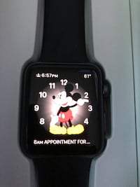 black Apple watch with black sports band West Warwick, 02893