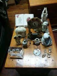 Assorted Crystal and Ceramic Watnots  Soso, 39480