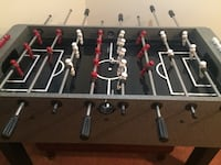Foosball table by Harvard Centreville, 20121