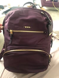 Plum Tumi Backpack