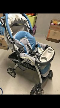 Baby's gray and blue stroller Dracut, 01826