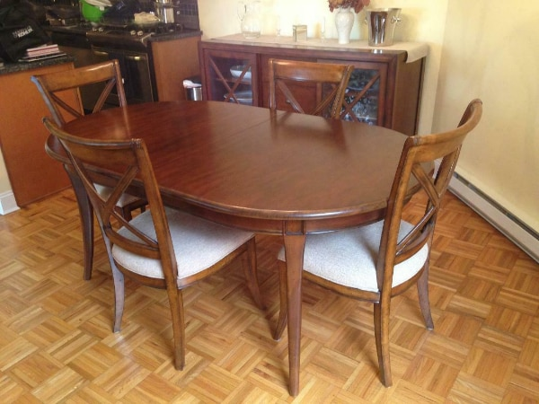 Dining Room Table With 2 Leaves 2