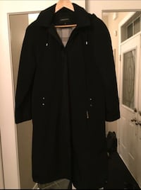 London Fog women's long Fall / Rain coat jacket size 14 / Large. Vaughan, L4J 8V7