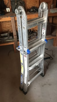 gray steel Werner folding ladder Paso Robles, 93446