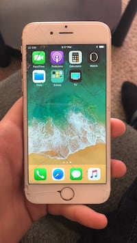 gold iPhone 6 with black case Bakersfield, 93309