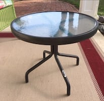 Hampton Bay Side Patio Table