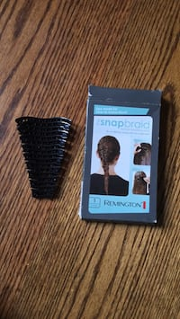 Black and gray and black hair clipper with box Carmel, 10512