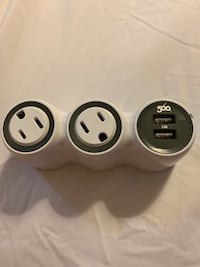 Surge protector mini. 2 USB,2 rotating AC outlets.360 Electrical brand Washington, 20016