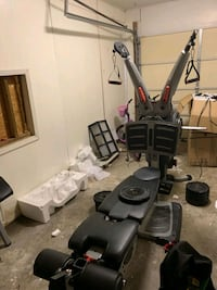 Assembly of fitness equipment