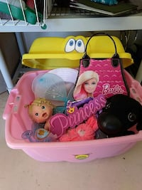 Toy bin and girl toys included St. George, 84790