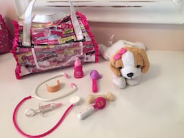BARBIE VET SET DOG CARRIER