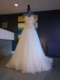 Wedding gown size 6 new with tags Alexandria, 22304