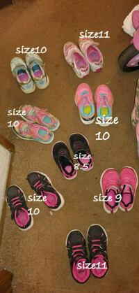 Toddler girl shoes size 8 to 11 Eugene, 97401