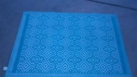blue and white area rug McAllen, 78504
