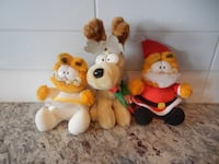 *Vintage* McDonalds Garfield Christmas Set (Comple Morinville