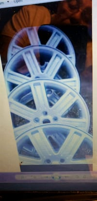 blue 5-spoke car wheel Frederick, 21701