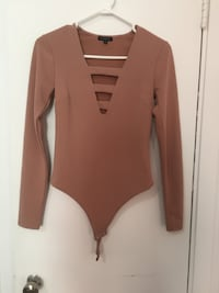 Rose pink long sleeve bodysuit from Dynamite (size Small) Montréal