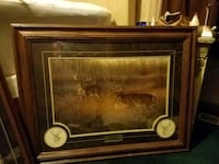 brown wooden framed painting of brown wooden car Milton, 40045
