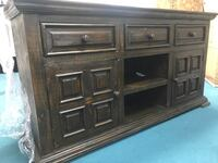 brown wooden cabinet with drawer Stafford, 77477