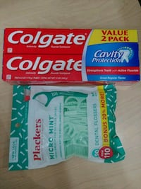 Twin pack colgate and floss Falls Church, 22041