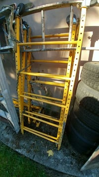 yellow and black metal ladder Surrey, V3T 2X3