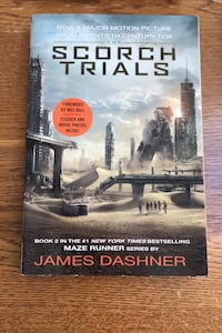 The scorch trials by James Dashner Newton, 02466