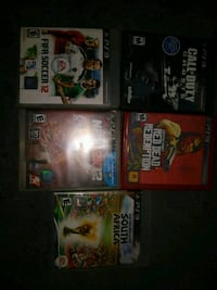 9 PS3 games for $25 Indio, 92201