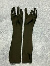 Satin gloves up to elbow length Narberth