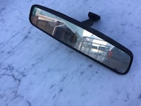 black framed car rear mirror fits to most cars Niagara Falls, L2G 3T4