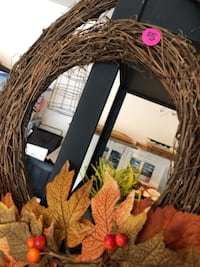 Fall double ring wreath  Champaign