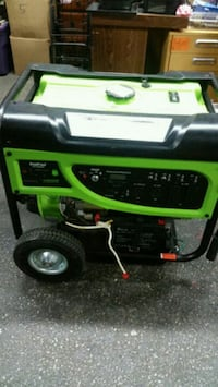 green and black portable generator Baltimore, 21230
