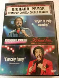 Richard Pryor stand up comedy double feature dvd